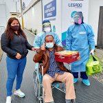 Paciente vence al Covid-19 y fue dado de alta en su cumpleaños