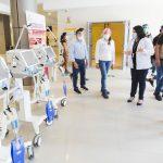 Tarapoto: Midis entrega lote de equipos médicos para luchar contra el Covid-19