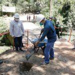 San Martín: Inician construcción de puente sobre quebrada Pucayacu
