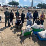 Incautan recurso hidrobiológico ilegal en el río Ucayali