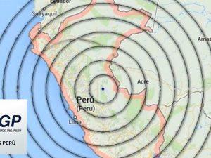 5160 sismos en el Perú en lo que va del año