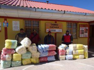 Almacenan kits de protección para heladas en malas condiciones