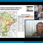 Machu Picchu: Entregan escenarios de riesgo por incendios forestales