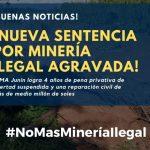 Junín: Sancionan a sujeto por delito de minería ilegal agravada