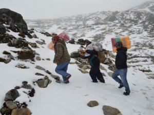 Recomiendan prepararse ante heladas nocturnas en la sierra del país