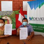 San Martín: Dos organizaciones cacaoteras de Tocache firman convenio con Agrobanco