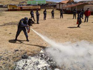 Cusco: Agricultores se capacitan para prevenir incendios forestales
