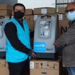 Huancavelica recibe 15 concentradores de oxígeno