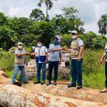 Ucayali: Madera recuperada a la tala ilegal será usada para mejorar puente