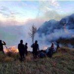 Tres incendios forestales son extinguidos en Apurímac y Pasco