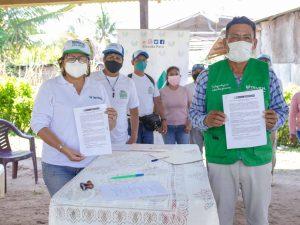 San Martín: Firman acta para reducir plagas en el cultivo de cacao