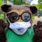 Lanzan campaña para reducir contaminación por mascarillas en el país