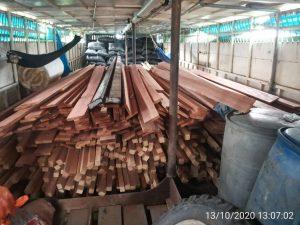 Ucayali: Incautan 3000 pies tablares de recurso forestal maderable