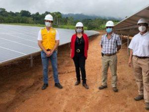 Ucayali: Inauguran primera central solar que beneficiará a Atalaya