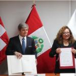 Perú y Suiza firman acuerdo para reducir efectos del cambio climático