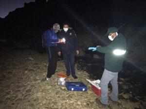 Huancavelica: Investigan presunto derrame de relave minero en el río Opamayo