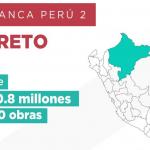 Arranca Perú 2: Loreto recibe S/ 90.8 millones para obras