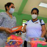 Entregan módulos educativos a instituciones de nivel inicial en San Martín