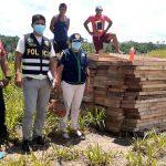 Yurimaguas: Incautan 6000 pies tablares de diferentes especies