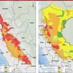 168 distritos de la sierra norte y centro con alto riesgo de huaicos