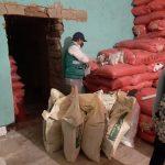 Cajamarca: Incautan tonelada de abono de orígen sospechoso