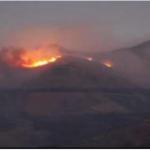Ayacucho: Extinguen incendio forestal en el distrito Tambillo