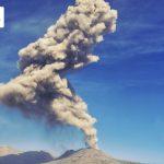 Volcán Sabancaya cumple cuatro años de proceso eruptivo continuo
