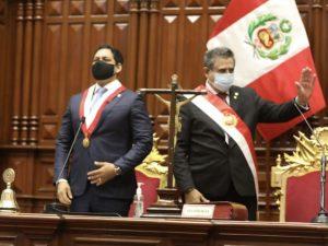 Manuel Merino asumió la Presidencia de la República