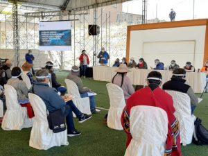 Cusco: Reunión informativa con comunidades campesinas de Espinar