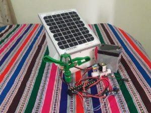 Alumnos sanmarquinos crean máquina para proteger cultivos de heladas