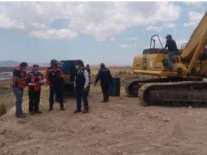 Puno: Realizan trabajos de reducción del riesgo en el río Ilave