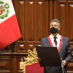 Francisco Sagasti jura como Presidente de la República del Perú