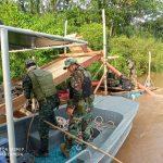 Madre de Dios: Operación contra minería ilegal en el río Pariamanu