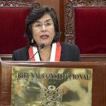 Tribunal Constitucional declara improcedente demanda competencial sobre vacancia