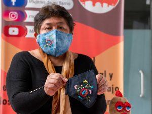 Confeccionan mascarillas reutilizables usando insumos no contaminantes