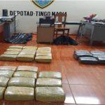 Huánuco: Hallan abandonados más de 120 kilos de marihuana