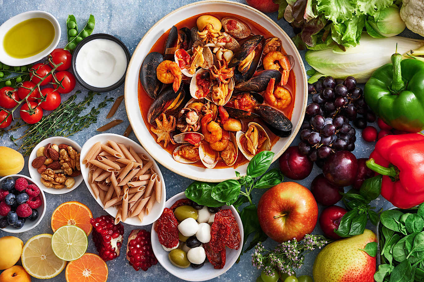 Starting a Mediterranean diet? Here's how to follow one of the world's  healthiest diets