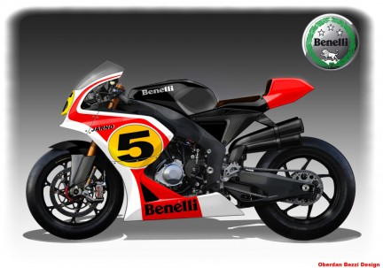 Thread: Jarno rep Benelli and some pics of the new single BX motor