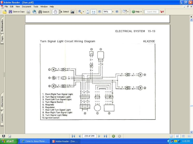 LED flasher relay – Drz 400 Wiring Diagram