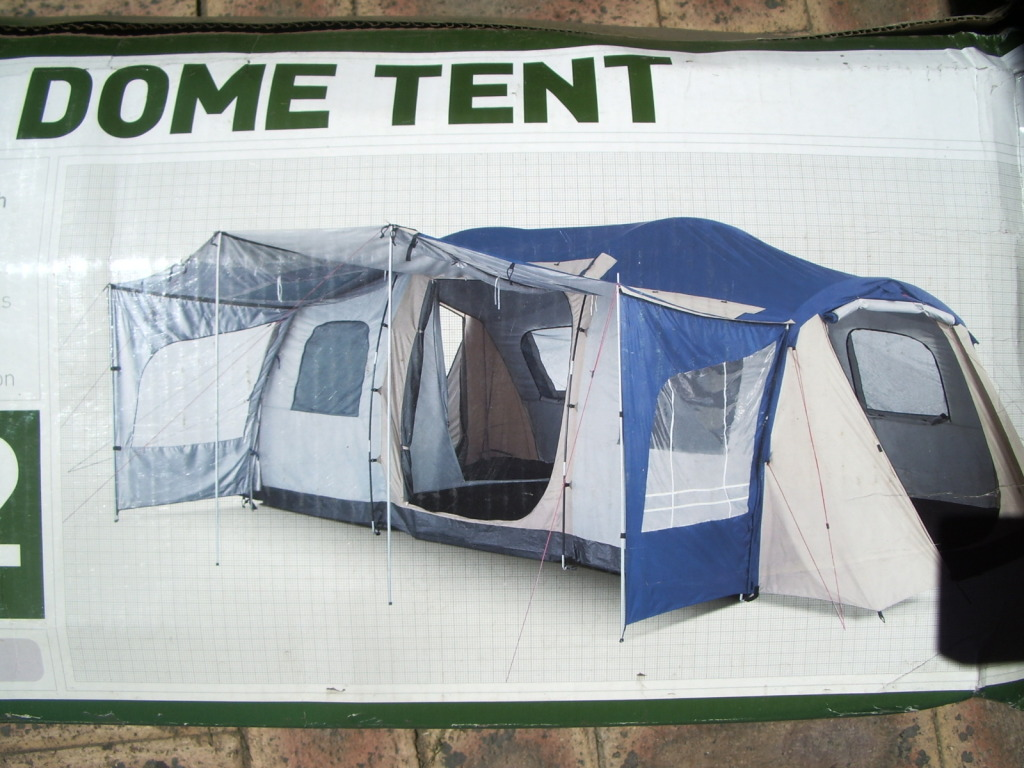 Never used Jackeroo 3 room dome tent (12 person) & For Sale Never used Jackeroo 3 room dome tent (12 person)