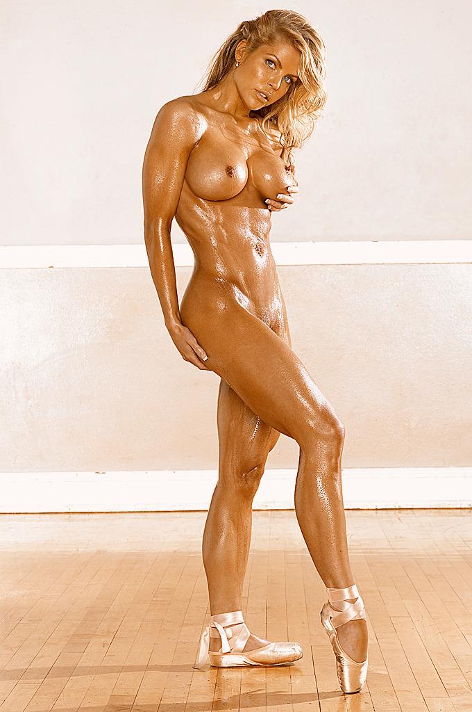 Hard body nude woman