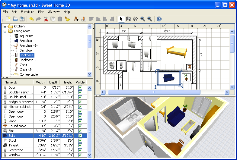 Free Kitchen Design Software Download Furniture 3d Home