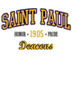Saint Paul Lightweight Blend Adult Hooded Sweatshirt