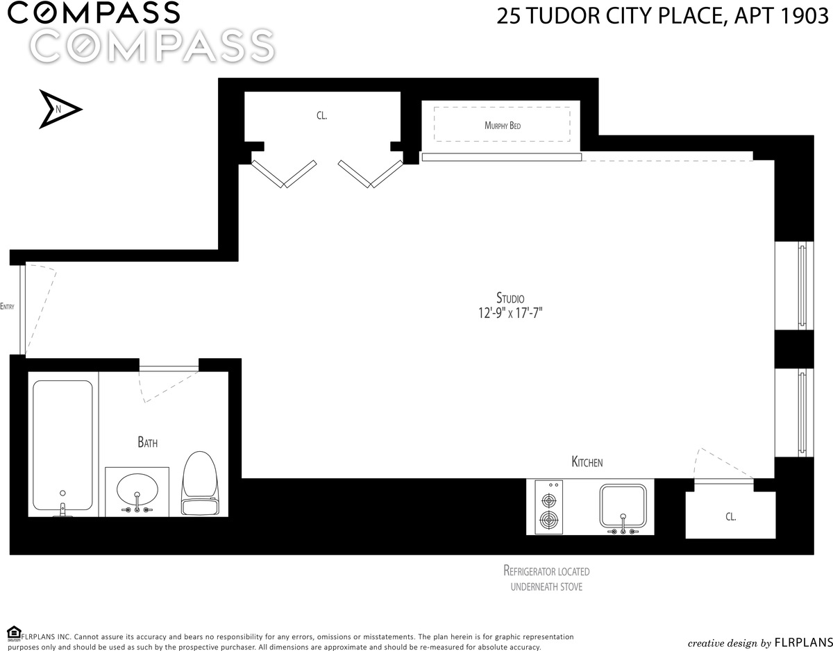 5 Tiny But Cute Nyc Studios For 350000 Or Less Curbed Ny