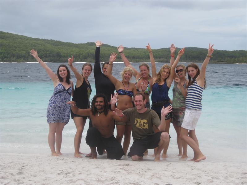 Our Fraser Island group