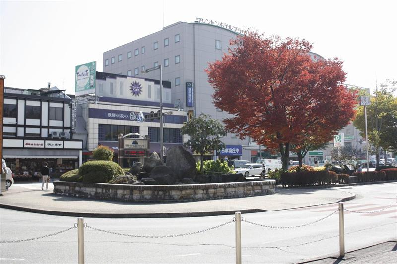 高山站廣場