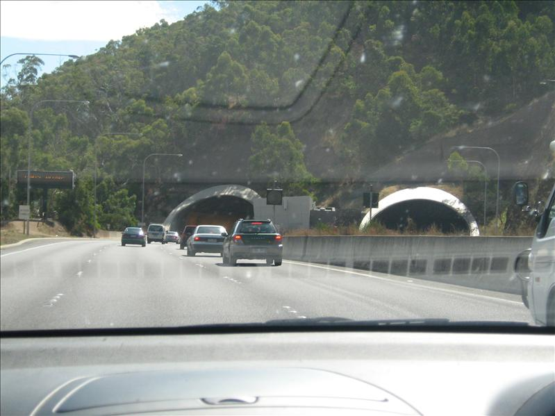 Tunnel into Adelaide