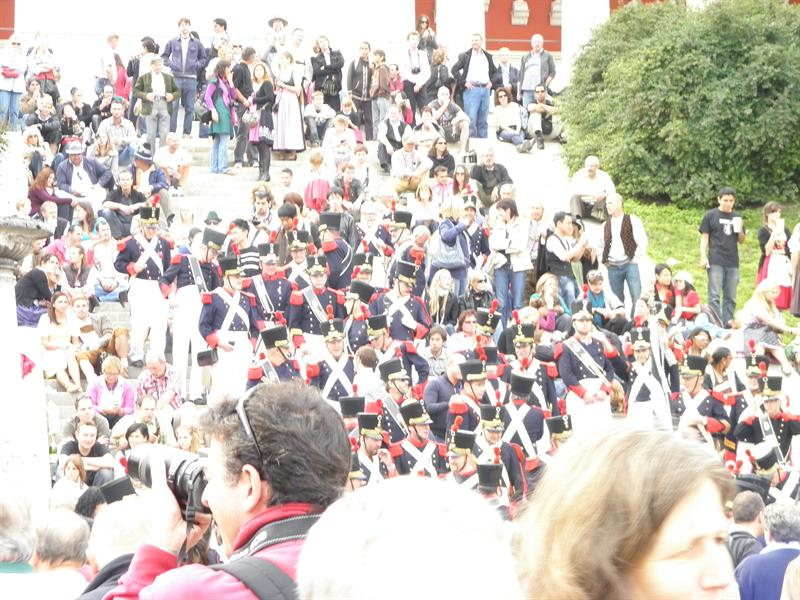 A view of the crowd
