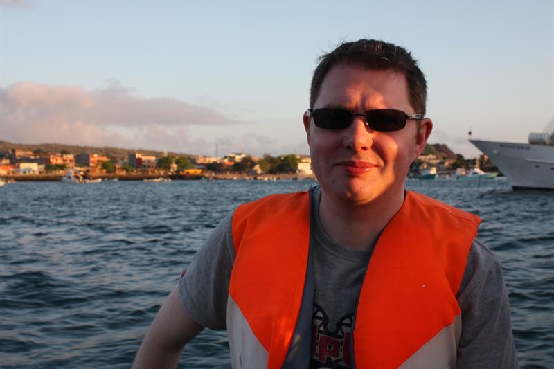 On board the panga's