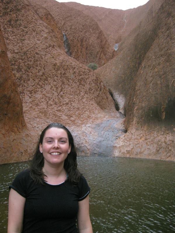 Waterpool at Uluru...very rare to see!